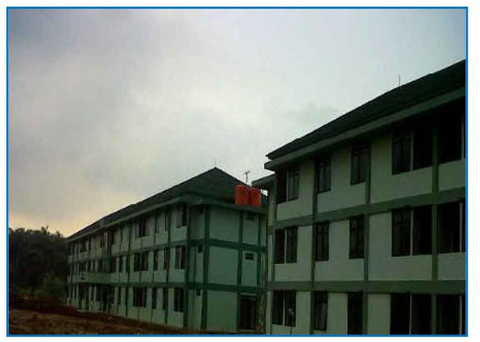 Rumah Dinas Kodam Jaya Cimanggis depok